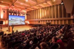 Salle de congrès pouvant accueillir plus de 1000 personnes
