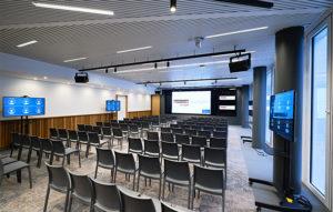 Evenement et réunions, répartir dans plusieurs salles à Bruxelles