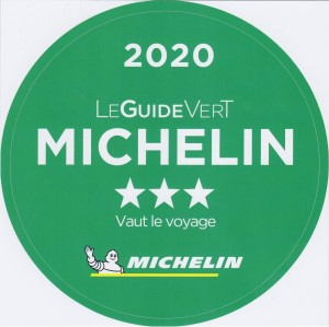 3 stars Guide Vert Michelin