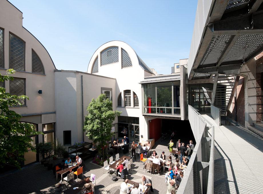 Grande terrasse pour événements extérieurs dans le centre de Bruxelles