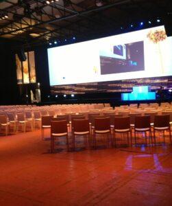 Grande salle de congrès à Bruxelles pour des événements