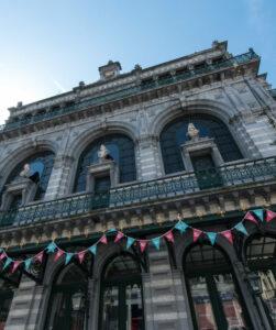 Salle à louer à Bruxelles dans un bâtiment patrimonial