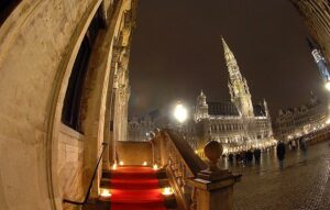 Lieu d'événement exceptionnel sur la Grand-Place de Bruxelles