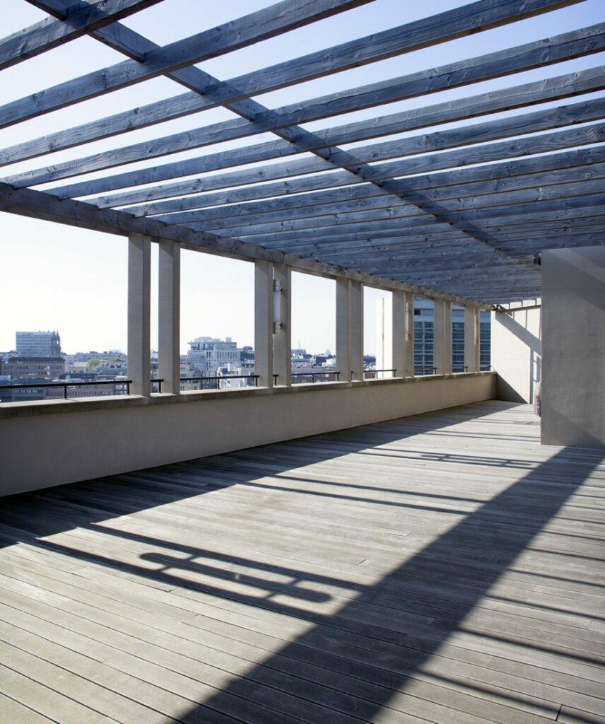 Grand rooftop avec vue sur Bruxelles, à louer pour événements