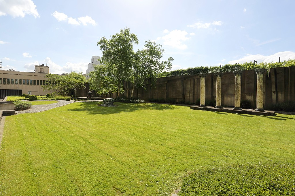 Grand jardin avec pelouse à Bruxelles, espace à louer